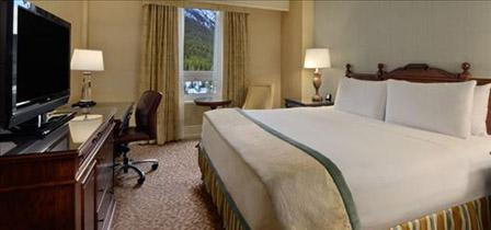 Guest room (from Fairmont website)